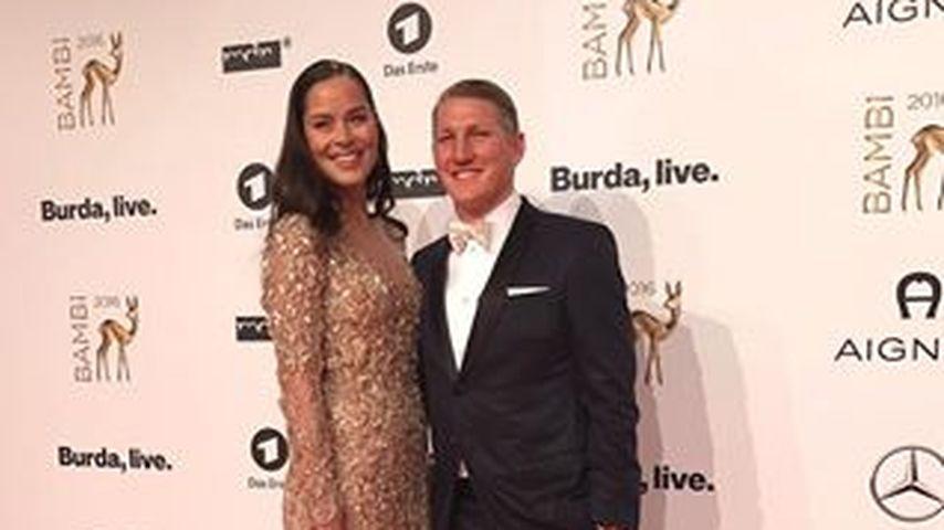 Ana Ivanovic und Bastian Schweinsteiger beim Bambi