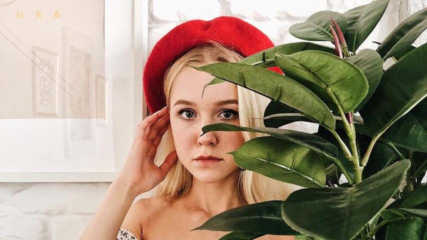 Instagram-Star Anastasia Tropitsel im Oktober 2018 in Moskau