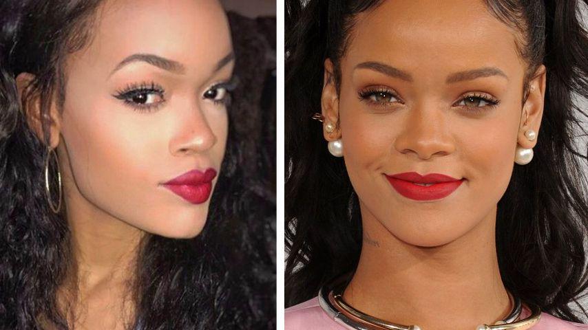 Wie krass ist das denn?! Diese Frau sieht aus wie Rihanna