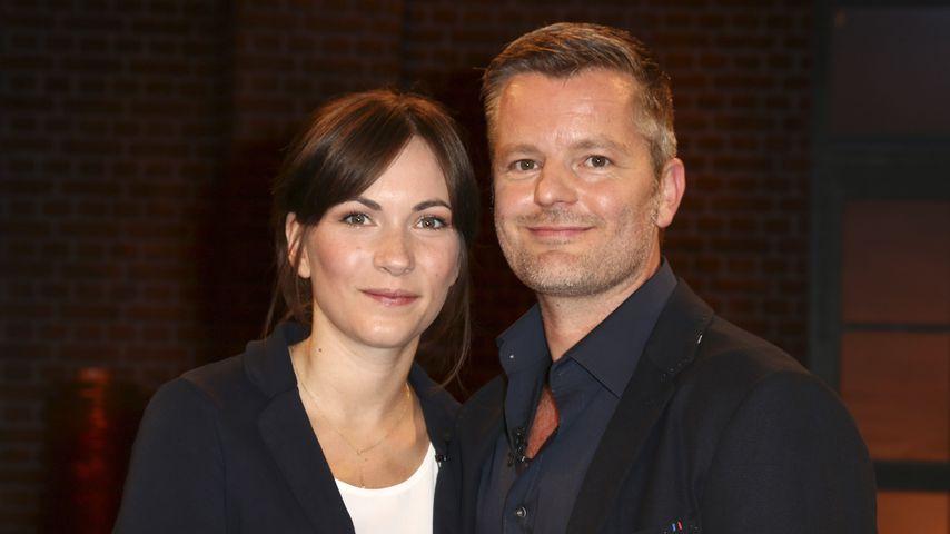 """André Dietz und seine Ehefrau Shari in der WDR-Talkshow """"Kölner Treff"""""""
