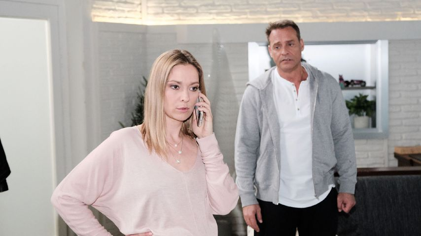 """Astrid Leberti und Kai Noll als Andrea und Rufus bei """"Unter uns"""""""