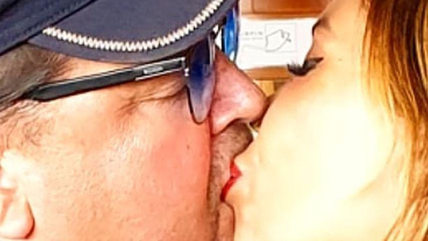 Neues Kussfoto: Patricia Blanco und ihr Andi züngeln wieder