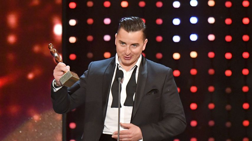 Andreas Gabalier bei der Romy-Verleihung 2017 in Wien