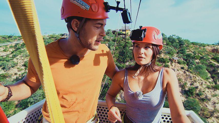 Andrej Mangold und Claudia Gottwald bei ihrem Bachelor-Einzeldate