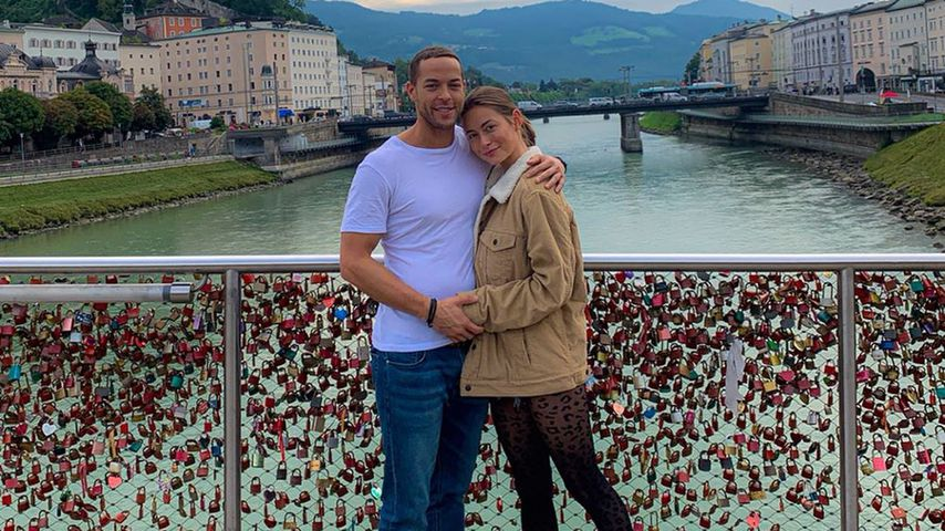 Bachelor-Paar Andrej Mangold und Jenny Lange