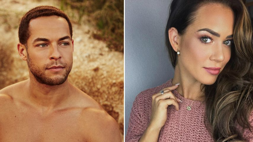 Neu-Bachelor Andrej Mangold wirkt auf Jessi Paszka liebevoll