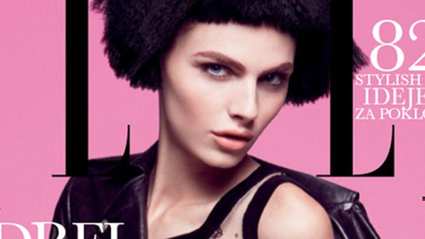 Wow! Andrej Pejić auf dem Cover der Elle
