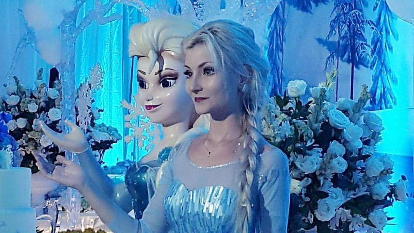Andressa Damiani Valcanaia mit der Eisprinzessin