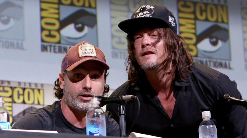 Andrew Lincol und Norman Reedus bei der Comic Con San Diego 2016