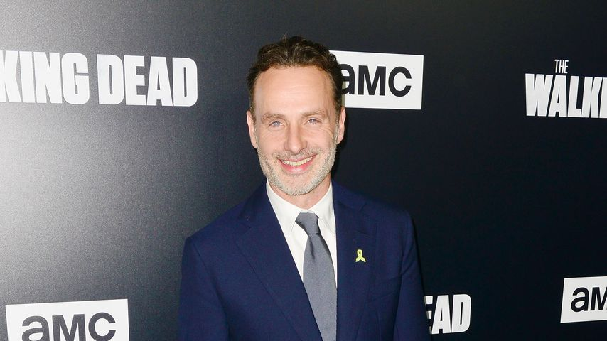 "Andrew Lincoln bei der Premiere der neunten Staffel ""The Walking Dead"""