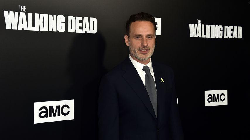 """Andrew Lincoln bei der Premiere der neunten Staffel von """"The Walking Dead"""" im Jahr 2018"""