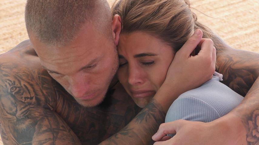 "Martin Fuhsy und Andrina Santoro bei ""Love Island"""