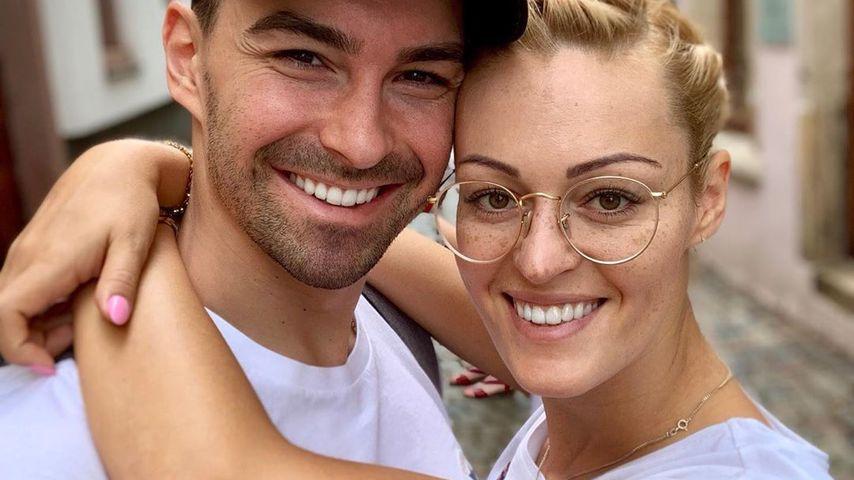 Andrzej Cibis mit seiner Frau Victoria Kleinfelder in Neustadt im August 2019