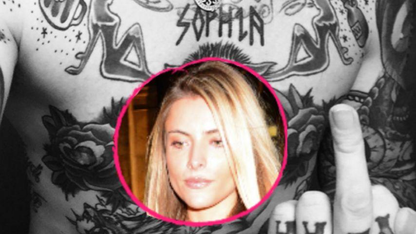 Stinkefinger für Sophia Thomalla? Ihr Neuer bezieht Stellung