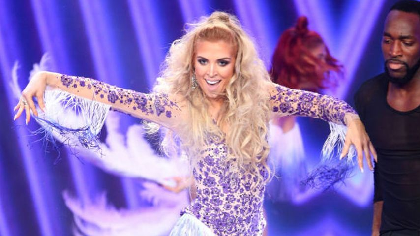 Aneta Sablik tanzt bei ihrem Solo zu 'Let´s Get Loud' von Jennifer Lopez.