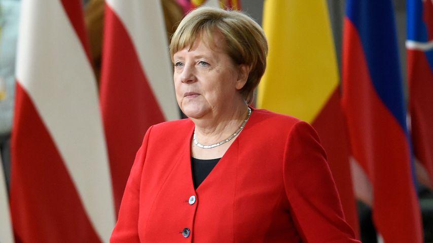 Angela Merkel in Brüssel im März 2019