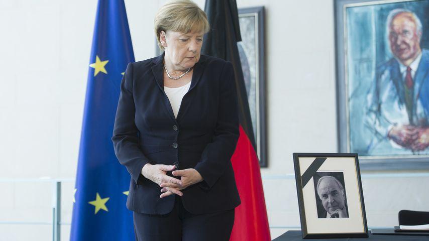 Merkel-Verbot? Kohls Witwe wollte keine Rede der Kanzlerin!