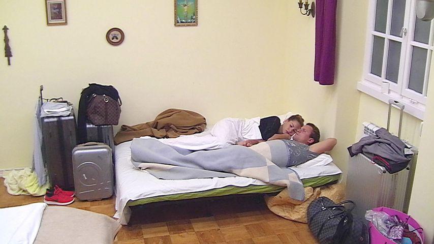 Angelina Heger und Rocco Stark im RTL-Sommerhaus
