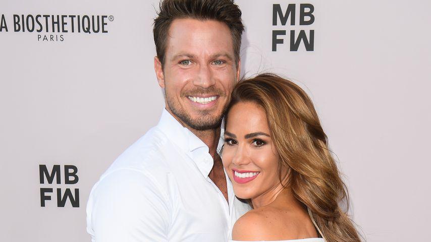 Angelina Heger und Sebastian Pannek, Juli 2019