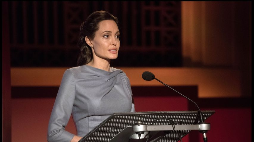 Prominente Uni-Dozentin! Angelina Jolie gibt Kurse in London