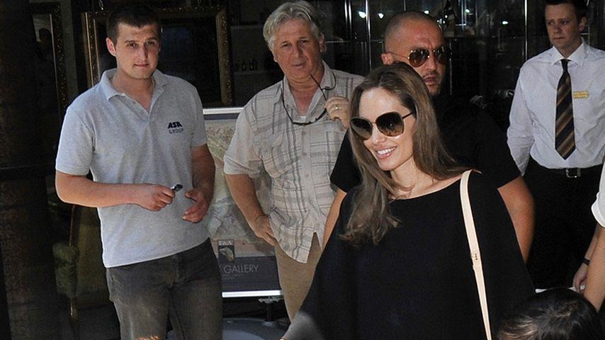 Angelina Jolie feiert Weihnachten ungern Zuhause