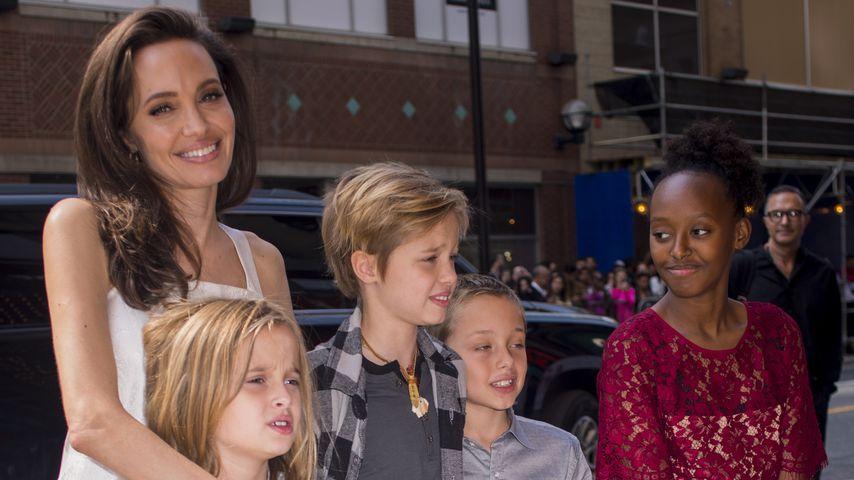 """Angelina Jolie: Sie hat jetzt eine """"Manny"""" für ihre 6 Kids!"""