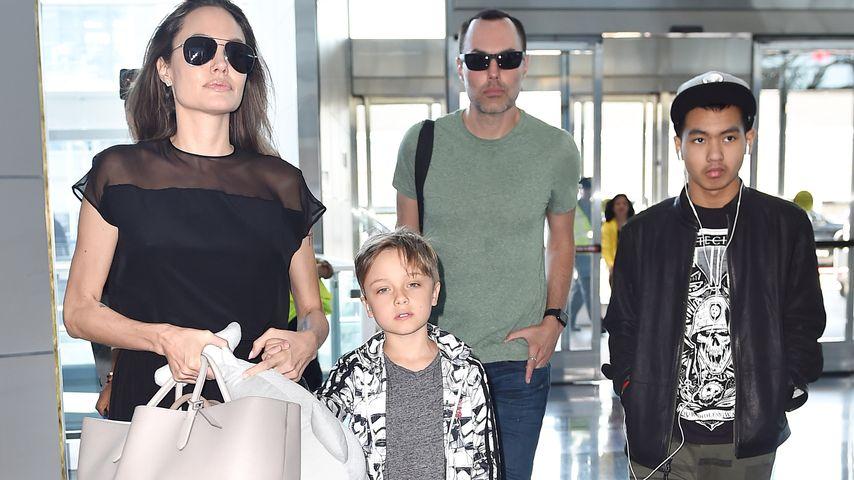 Angelina Jolie & die Kinder: Jetzt machen sie eine Therapie!