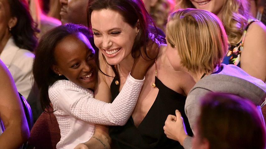 Angelina Jolie: Mit ihren Mädels beim Kids' Choice Award!