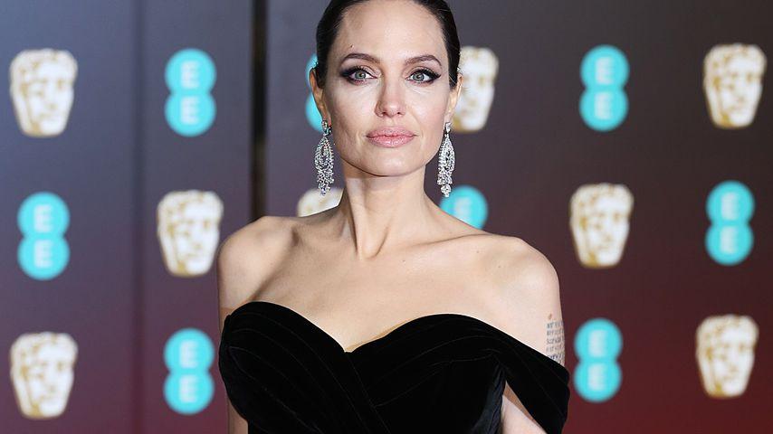 Stress-Diät & Schlafmangel: Große Sorge um Angelina Jolie!