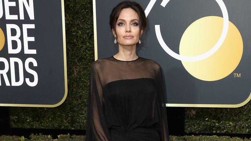 Angelina Jolie bei den Golden Globe Awards 2018