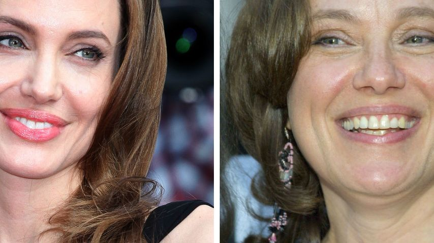 Angelina Jolie: Heirat im Kleid ihrer toten Mutter