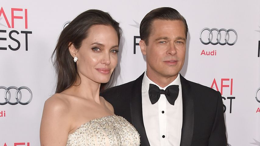 Angelina Jolie und Brad Pitt in Hollywood 2015