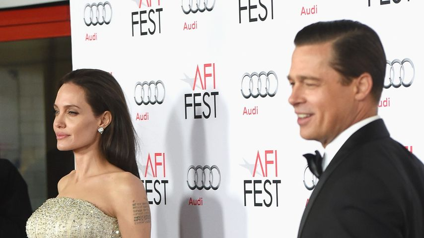 "Angelina Jolie und Brad Pitt bei der ""By the Sea""-Premiere in Hollywood"