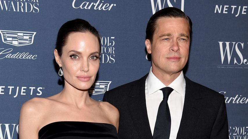 Angelina Jolie und Brad Pitt im November 2015 in New York