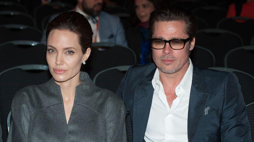 Angelina Jolie und Brad Pitt im Kino