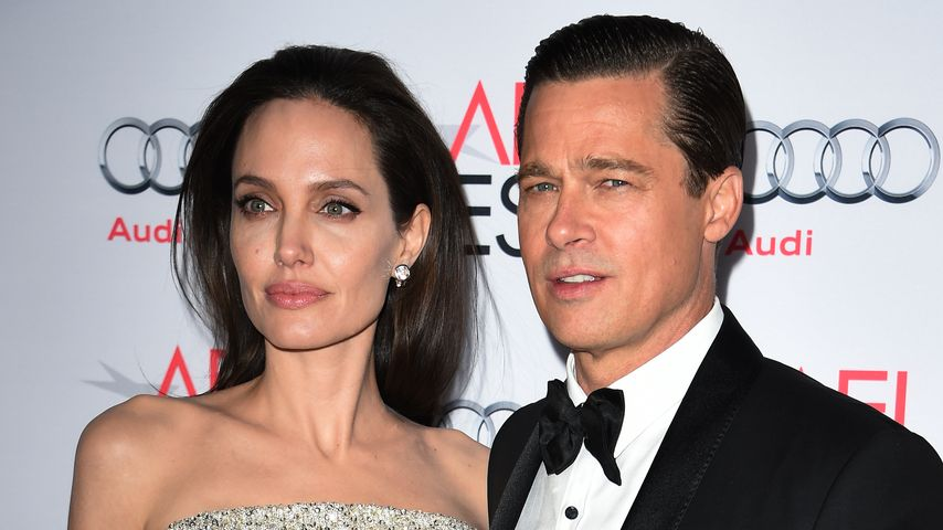 Angelina Jolie und Brad Pitt im November 2015 in Hollywood