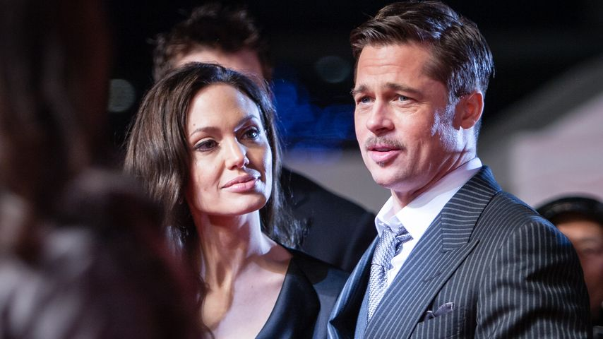 Angelina Jolie und Brad Pitt in Japan