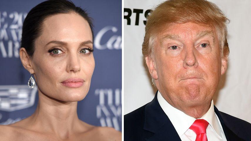 Präsidenten-Fail: Angelina Jolie teilt gegen Trump aus!