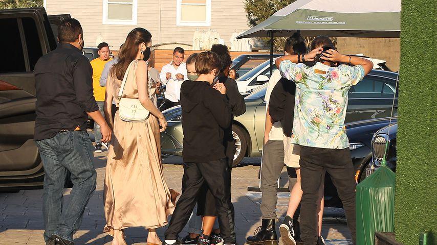 Angelina Jolie und ihre sechs Kinder im August 2020