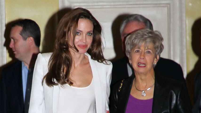 Angelina Jolie und Jane Pitt in New York