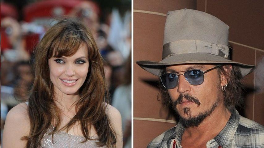 Angelina Jolie inspiriert Johnny Depp