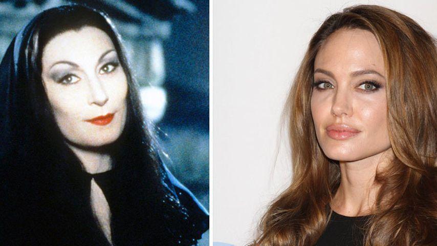 Gute Wahl? Angelina Jolie wird zu Morticia Addams