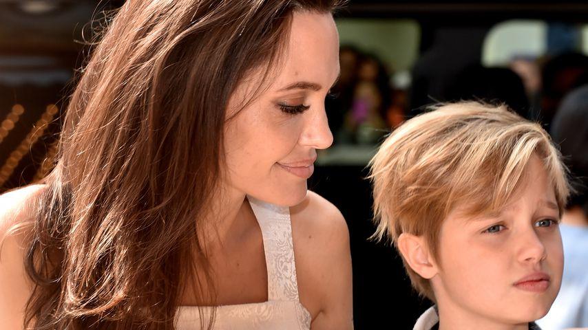 Angelina Jolie und Shiloh im Jahr 2017