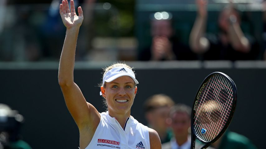 Angelique Kerber 2018 beim Grand-Slam-Turnier in Wimbledon