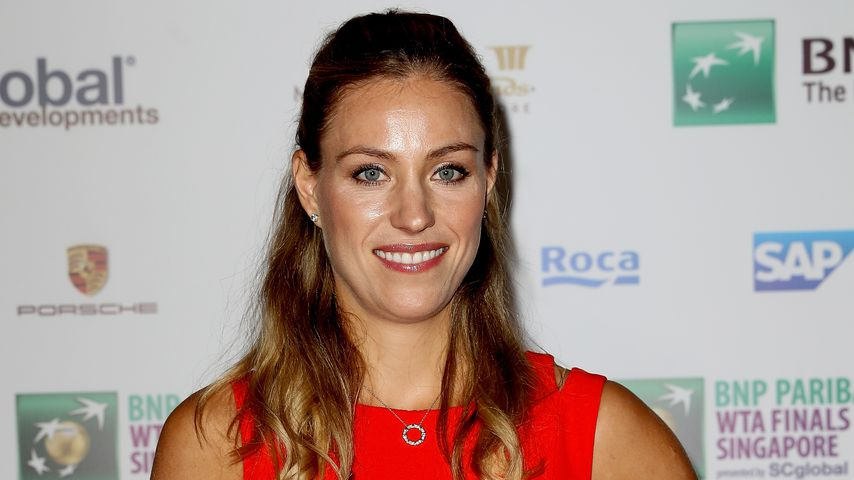 Angelique Kerber in Singapur