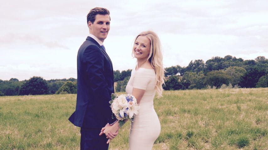 Sexy Braut! Ania Niedieck zeigt endlich ihr Hochzeitskleid
