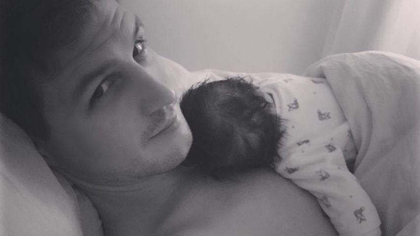 Ania Niedieck stolz: Hier kuschelt ihr Baby mit dem Papa!