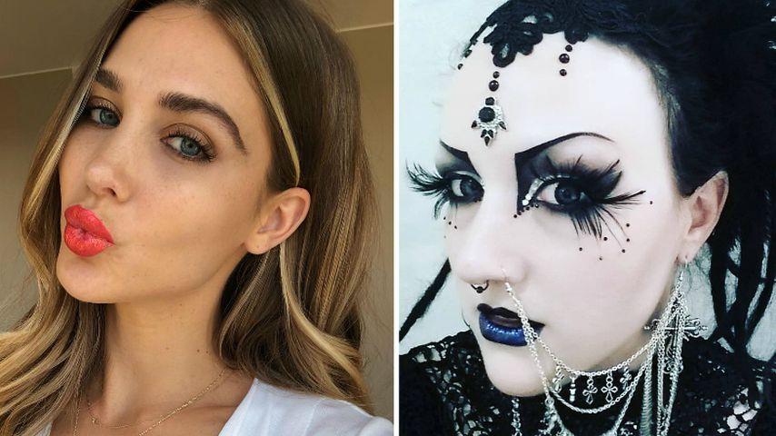 Wow! Das ist Ann-Kathrin Brömmels Goth-Schwester Stephanie