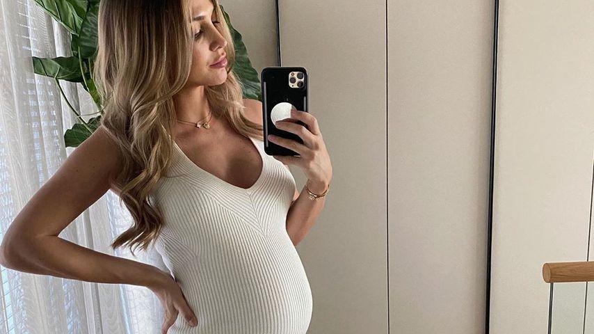 Ann-Kathrin Götze in der 30. Schwangerschaftswoche