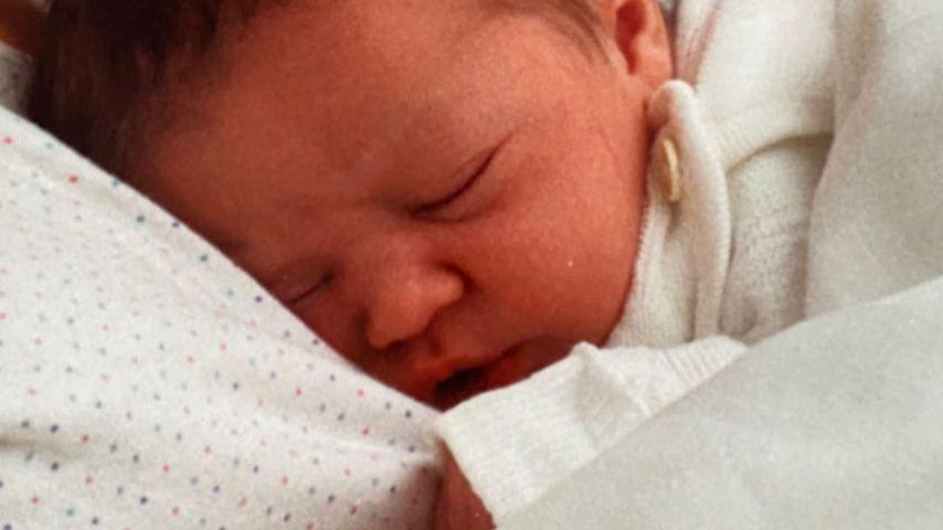 Ann-Kathrin Götze als Baby